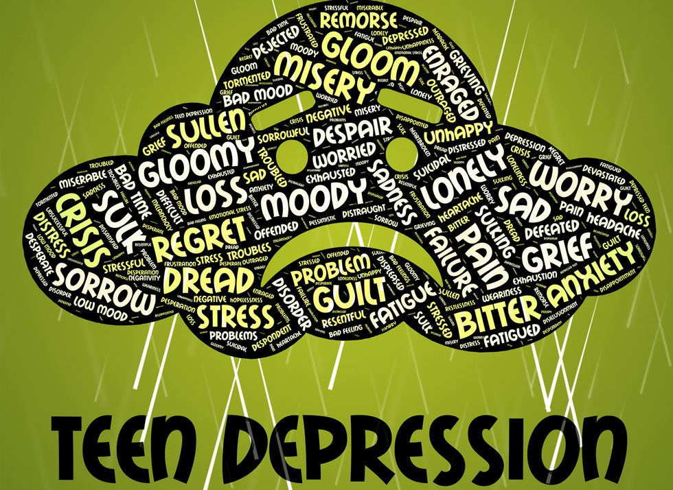 Cures for teen depression topic