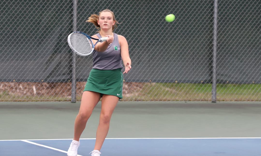 Tori Riopel at No. 4 singles makes a return.